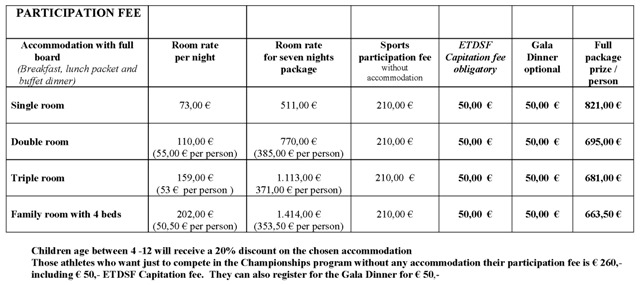 ETDSF Participation fee payment conditions Seite 1
